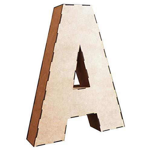 Letras Grandes Boda Decoración en Madera 58 cm