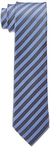 Bugatti 6002-90001 Corbata, Azul (Blau 320), Talla única para Hombre
