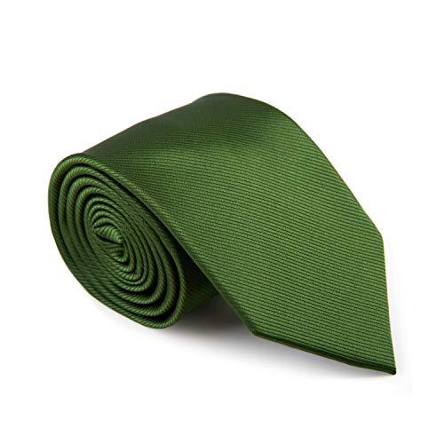 GENTSY ® Corbata Hecha a Mano para Hombre Ancho Estandar de 8 cm o Delgado 6 cm - Colores...