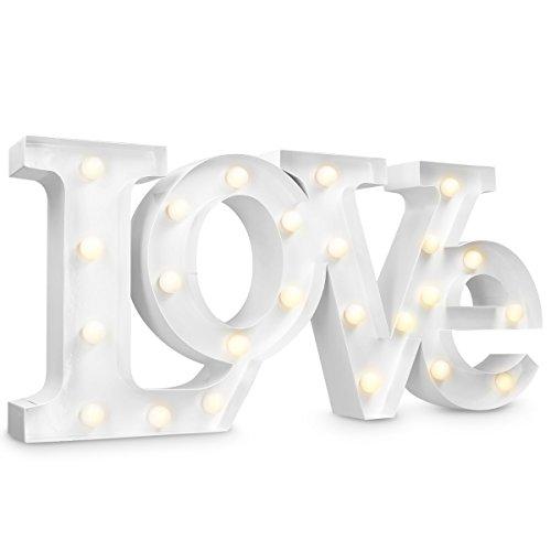 Letras Love con Luces 22 cm