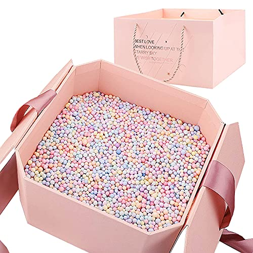 Hbsite Caja de regalo de reutilizable Creative box con caja de regalo sorpresa con relleno...