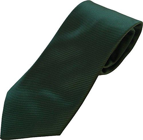 PB Pietro Baldini Corbata verde listados - Corbatas verde hombre 100% microfibra -...