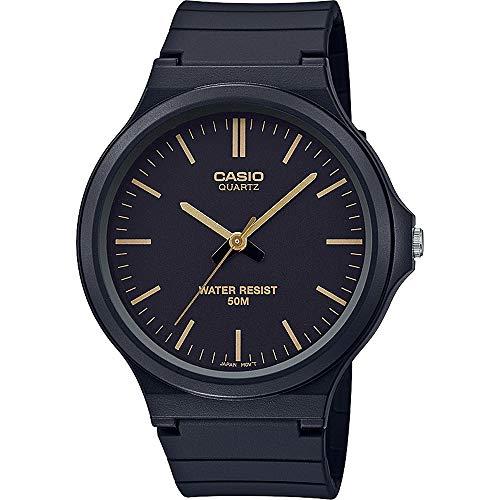 Casio Reloj Analógico para Unisex Adultos de Cuarzo con Correa en Resina MW-240-1E2VEF