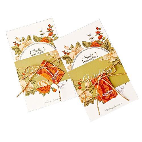 JXS-Wedding Invitaciones de Boda, Invitaciones para el día de la Boda Diseño Combinado...