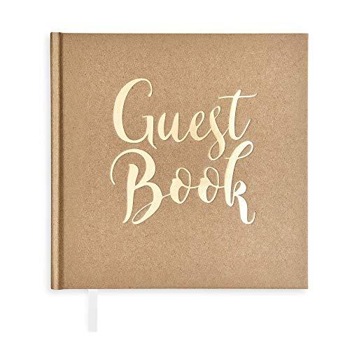 Plantvibes Libro de visitas para Fiestas de Boda, Bautizo o cumpleaños, 72 páginas, Tapa...