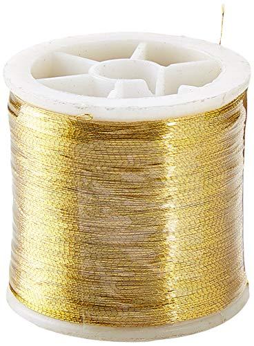 Art-Manufacture-Design - Hilo de costura (100 m), color dorado
