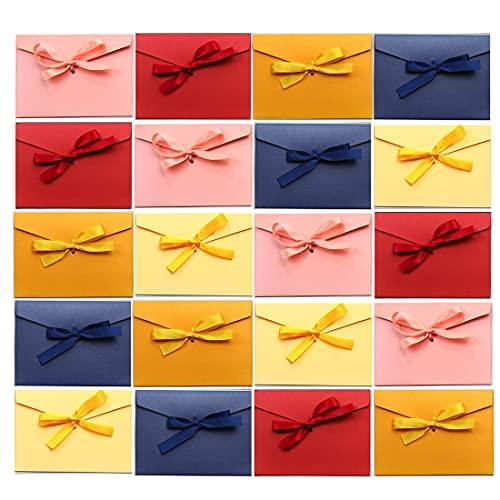 SLOSH 30 Sobres Vintage Kraft Regalo Invitacion Boda Felicitación Sobres De Tarjeta...