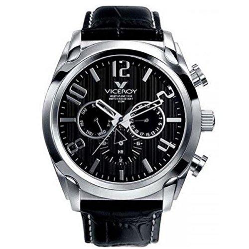 Viceroy Reloj Analogico para Hombre de Cuarzo con Correa en Cuero 40347-55
