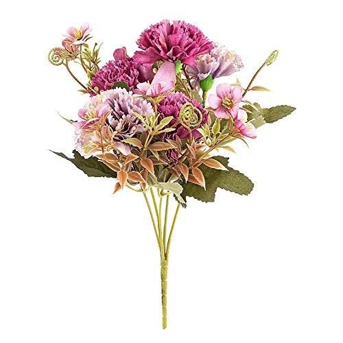 Ideen mit Herz - Ramo de flores artificial con flores y colores variados, 28 cm de alto,...