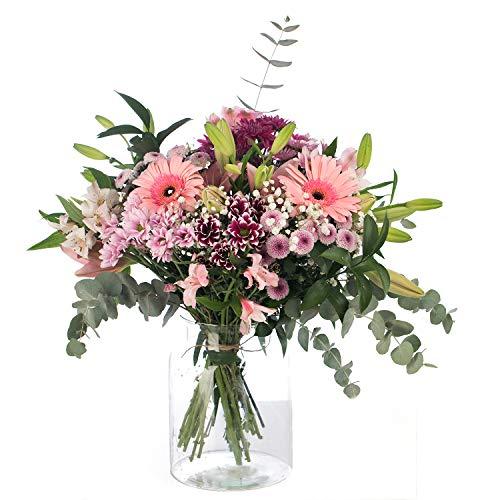 Ramo de Flores Variadas en Tono Rosa   ENTREGA GRATIS 24 HORAS   Flores Naturales a...