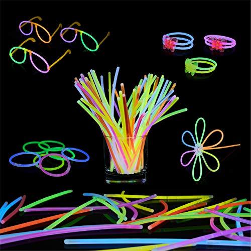 Bramble 543 Pack de Barras Luminosas - 250 Varitas Luminosas, 293 Conectores   Multicolor...