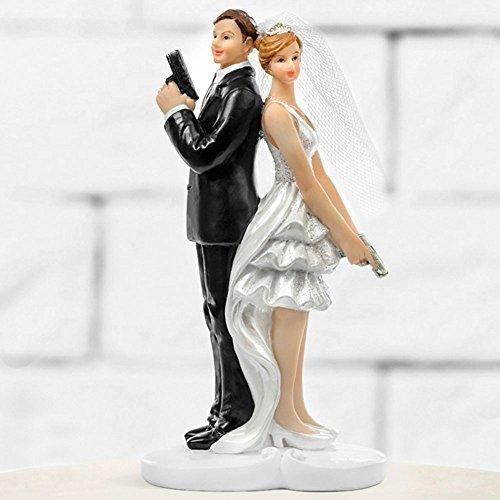 Figura de tartas Boda Pareja De Novia Tarta De Torre Decoración De Tarta Pareja de boda...