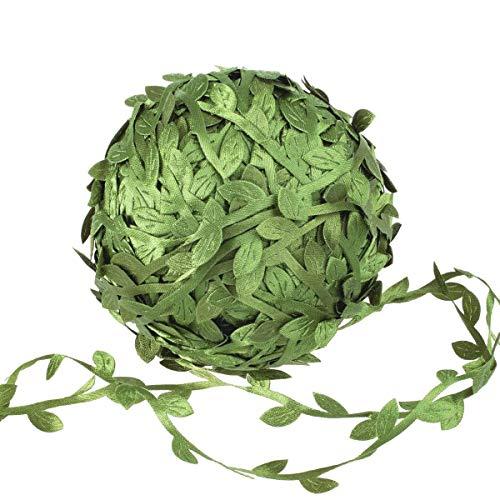 N/H Guirnalda artificial de hojas de hiedra de follaje artificial utilizada para marcos de...