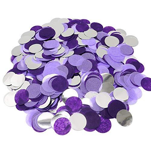 VCOSTORE 5000 piezas redondas de papel de seda para decoración de fiesta de cumpleaños...