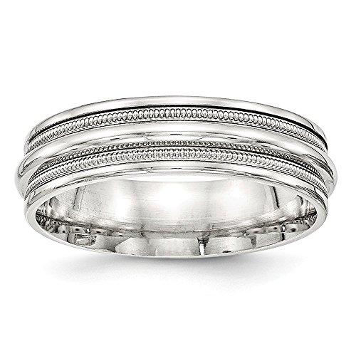 Diamond2Deal - Alianza de boda para mujer (plata de ley 925, pulida, 7 mm)
