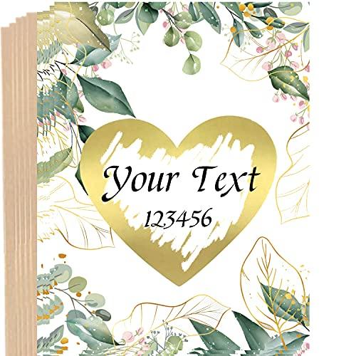 10 tarjetas para rascar con sobres, tarjetas de felicitación, anuncio de embarazo, bodas,...