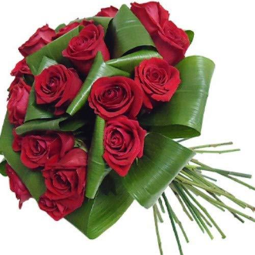 Florclick - Bouquet 18 rosas rojas- Ramo de flores naturales en 24 horas y envío GRATIS