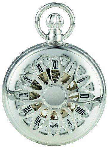 Woodford 1052 - Reloj de Bolsillo para Hombre con Acabado en Cromo y Cadena (se Puede...