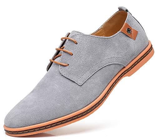 CAGAYA Hombre Zapatos Oxford Cordones Informal Negocios Boda Calzado Estilo Británico...