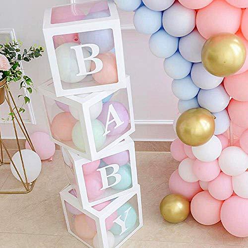 Dandelionsky - Caja de almacenamiento para niños (30 x 30 x 30 x 30 cm, plástico y...