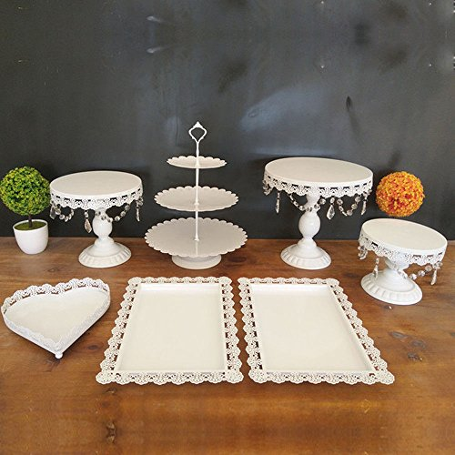 TFCFL Soporte para tartas y cupcakes, 9 unidades, soporte para tartas de boda, soporte...