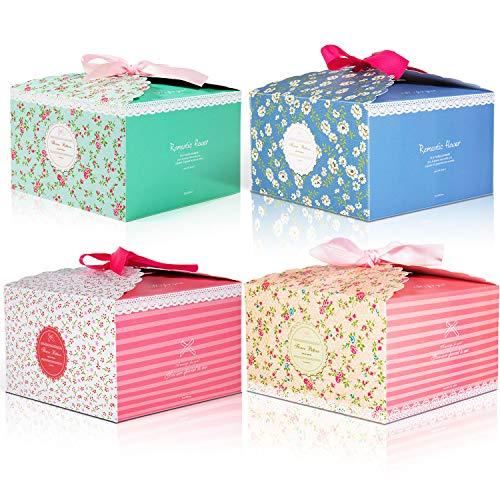 12pcs Cajas de regalo MOOKLIN Caja de dulces Caja de papel de galletas para la boda...