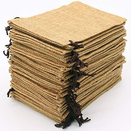 Leeyunbee 30PCS 10x15cm Bolsas de Yute, Bolsitas de Yute, Sacos de Yute, Bolsa de...