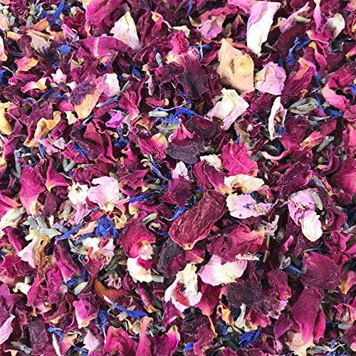 1 litro de confeti de pétalo natural - Biodegradable - Muchos colores, tipos y opciones...