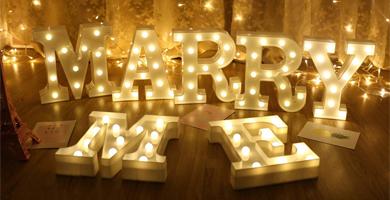 pack letras boda