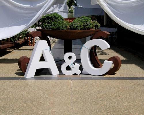 decorar letras de poliespan